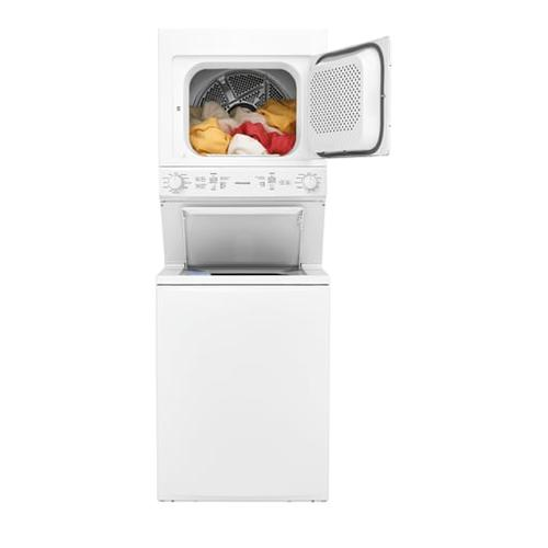 Gallery - Frigidaire Electric Washer/Dryer Laundry Center - 4.5 Cu. Ft Washer and 5.5 Cu. Ft. Dryer