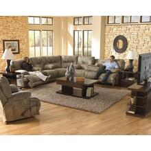 CATNAPPER 43845SG 3-Piece Voyager Sectional Reclining Sofa, Reclining Loveseat & Wedge Group