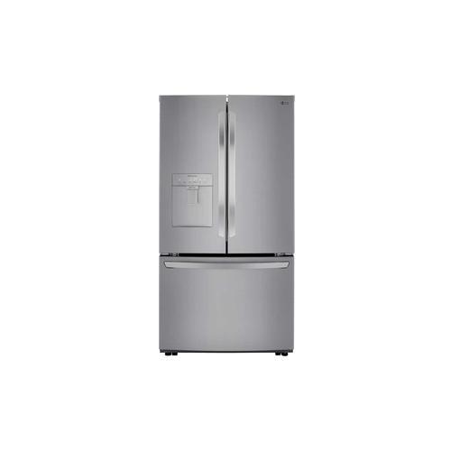 LG - 29 cu ft. French Door Refrigerator with Slim Design Water Dispenser
