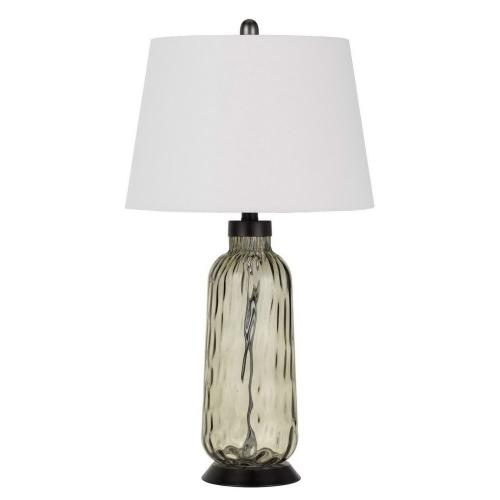 150W 3 Way Bolsena Glass Table Lamp (Priced And Sold in Pairs)