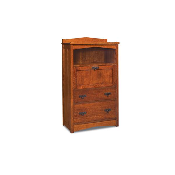 Grant Laptop Cabinet with File Drawer