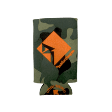 Camo Slim Line Koozie with RF Logo