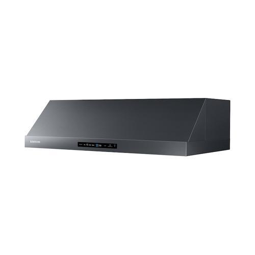 "Samsung - 36"" Under Cabinet Hood in Black Stainless Steel"