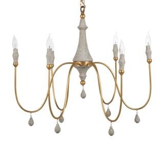 See Details - Clay Chandelier - Gold Small