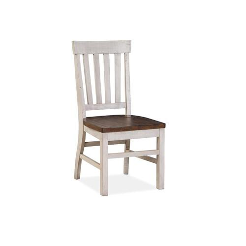 Magnussen Home - Two Tone Dining Side Chair (2/ctn)