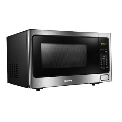 See Details - Danby Designer 1.1 cuft Microwave with Stainless Steel front