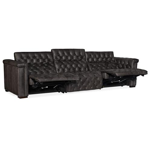 Savion Grandier Sofa w/PWR Recline PWR Headrest