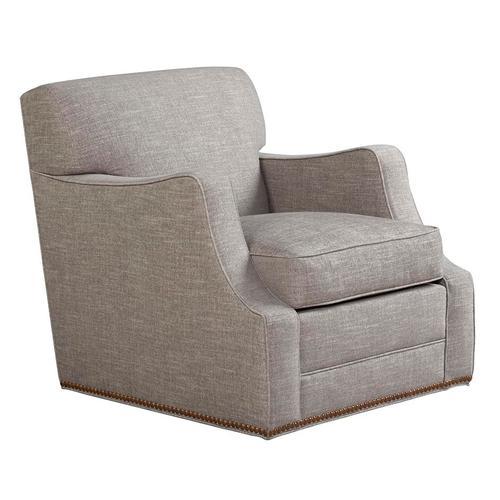 """T/P Scroll Arm Chair (3""""CB=)"""