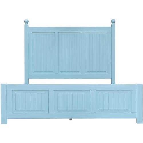 Cottage Creek Furniture - Beachfront Panel Bed, Queen headboard