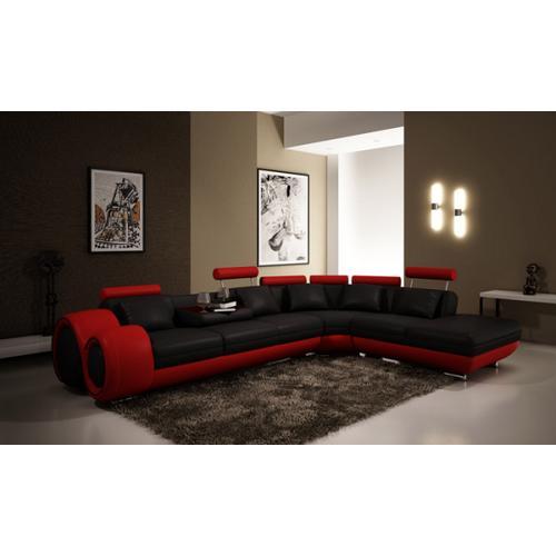 Divani Casa 4086 Modern Leather Sectional Sofa