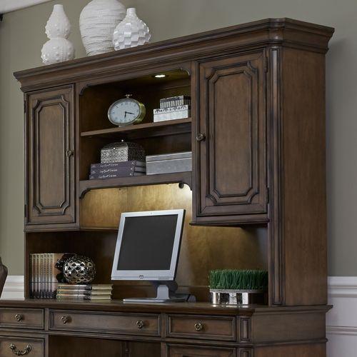 Liberty Furniture Industries - Jr. Executive Credenza Hutch