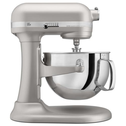 Pro 600™ Series 6 Quart Bowl-Lift Stand Mixer - Nickel Pearl