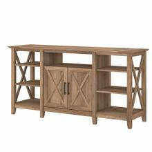 See Details - Tall TV Stand for 65 Inch TV, Reclaimed Pine