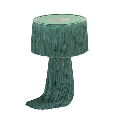Atolla Emerald Tassel Table Lamp