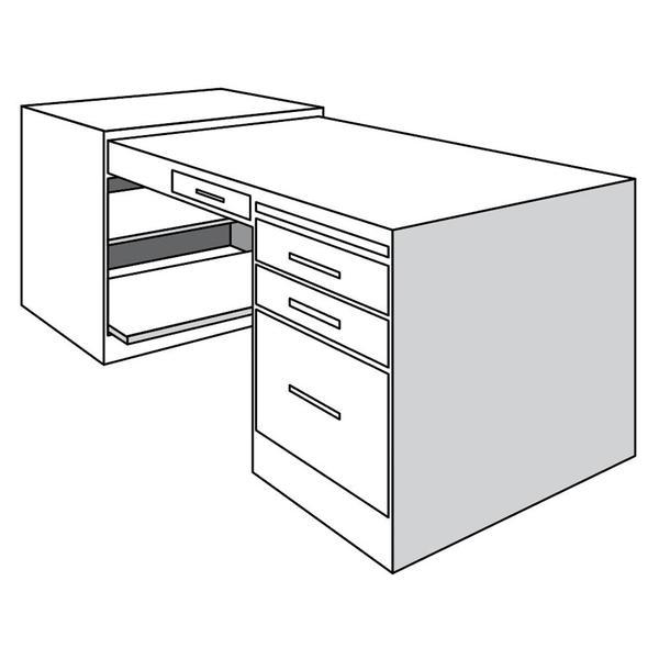 See Details - Desk Return, Right
