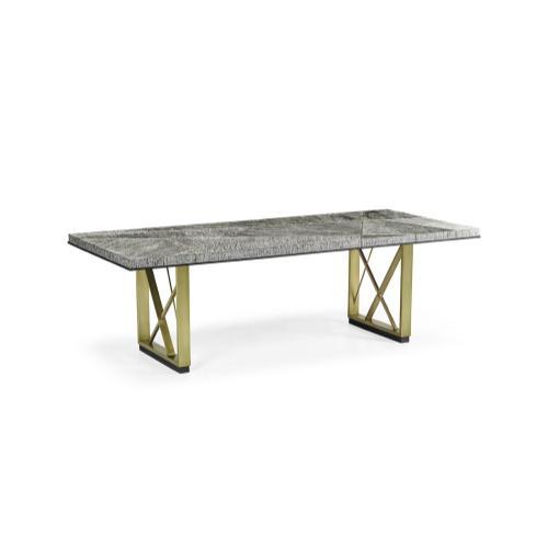 "Geometric 96"" Dining Table"