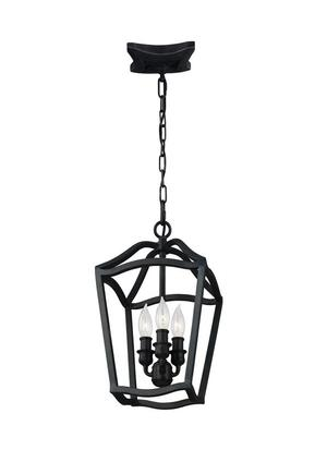 Yarmouth Small Lantern Antique Forged Iron Product Image