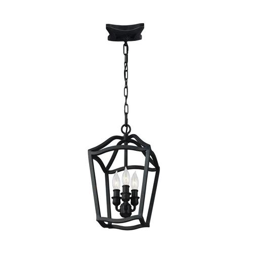 Yarmouth Small Lantern Antique Forged Iron