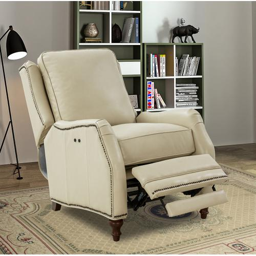 Huntington Power Recline Parchment