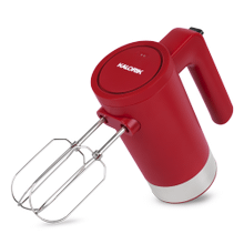 Product Image - Kalorik Cordless Electric Hand Mixer, Red