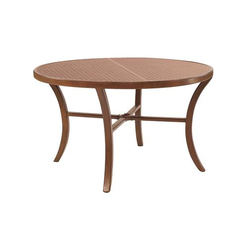 """Castelle - 54"""" Transitional Round Dining Table"""