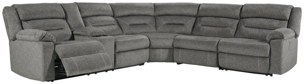Malmaison 4-piece Power Reclining Sectional