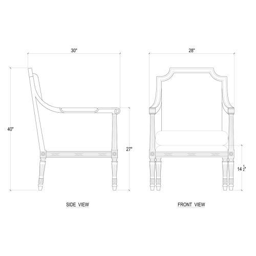 St. James Club Chair