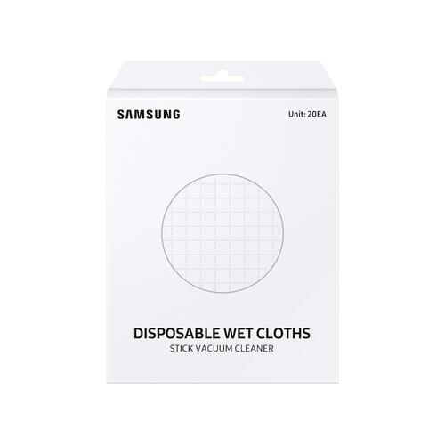 Samsung - Jet™ Stick Spinning Sweeper Disposable Wet Pads (20 Pack)