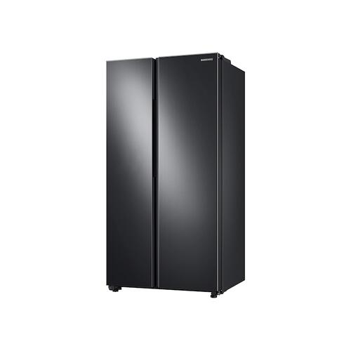 23 cu. ft. Smart Counter Depth Side-by-Side Refrigerator in Black Stainless Steel