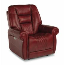 View Product - Maverick Power Recliner with Power Headrest and Lumbar