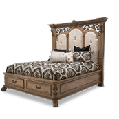 Cal King Bed w/Drawers (4 pcs)