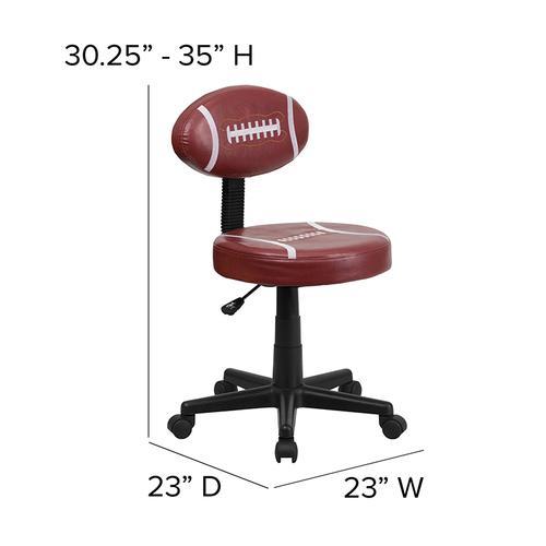 Gallery - Football Swivel Task Office Chair