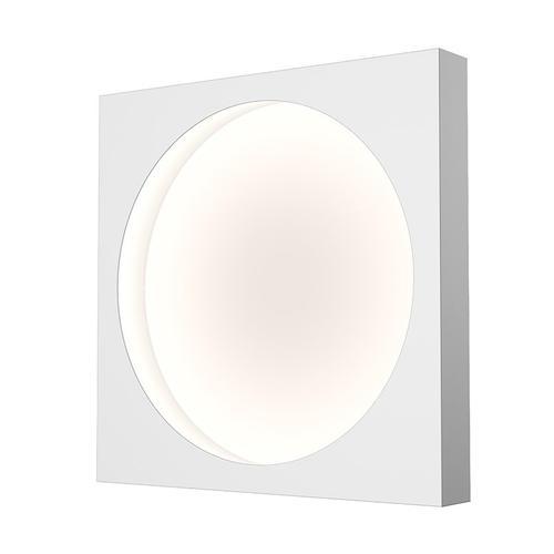 "Sonneman - A Way of Light - Vuoto LED Mount [Size=15"", Color/Finish=Satin White]"