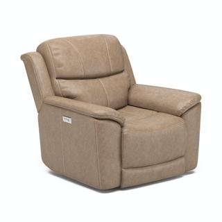 See Details - Cade Power Recliner with Power Headrest and Lumbar