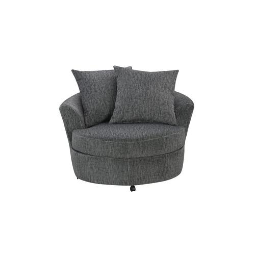 Big Chill Pewter Sofa, Loveseat, 1.5 Chair & Swivel Chair, U4438