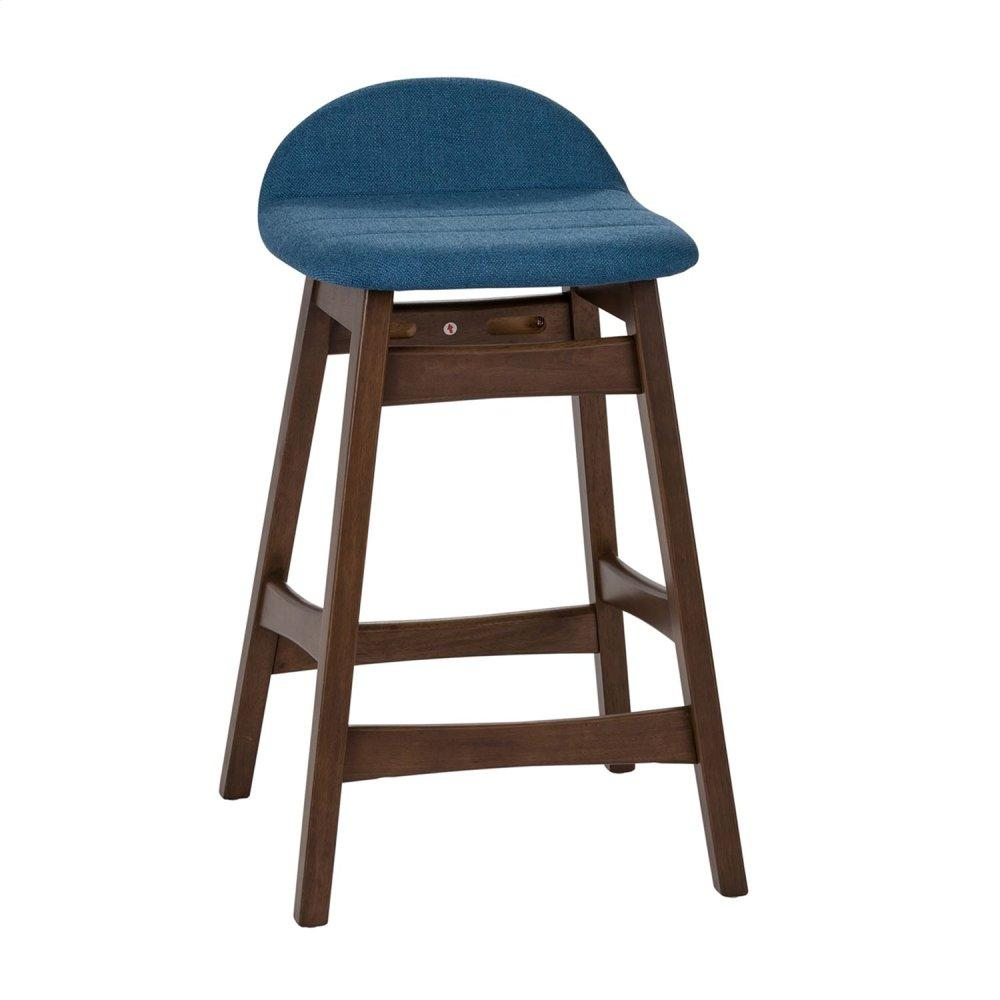 24 Inch Counter Chair - Blue (RTA)