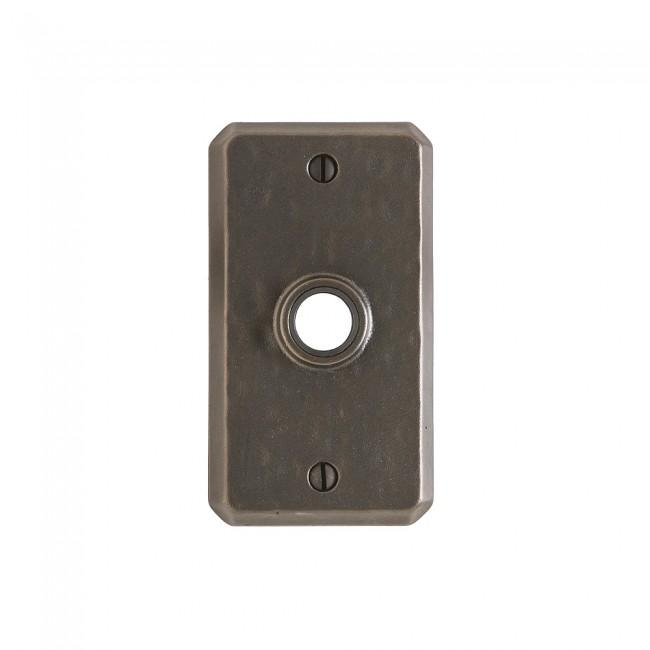 Hammered Escutcheon - E30403 Silicon Bronze Brushed