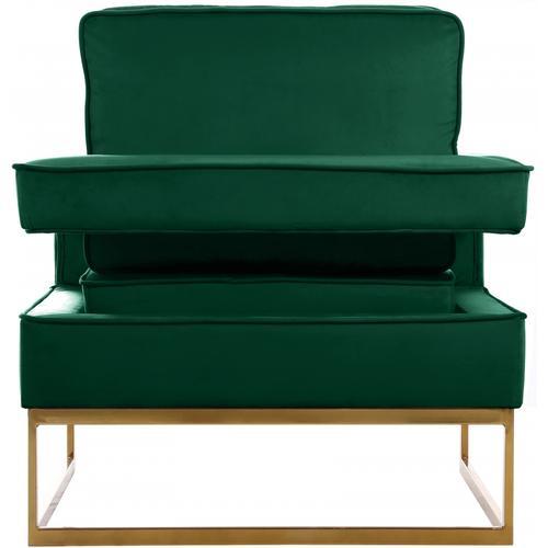 """Noah Velvet Accent Chair - 33"""" W x 29"""" D x 35"""" H"""