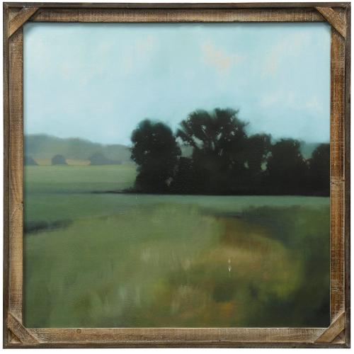 Style Craft - Late Days  Textured Framed Print  30in X 30in