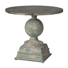Indoor/Outdoor Pedestal Table