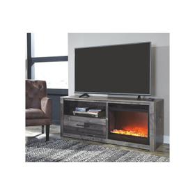 Derekson TV Stand W/ Fireplace Insert Infrared