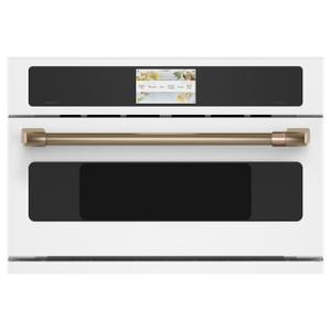 "Cafe Appliances30"" Smart Five in One Oven with 120V Advantium® Technology"