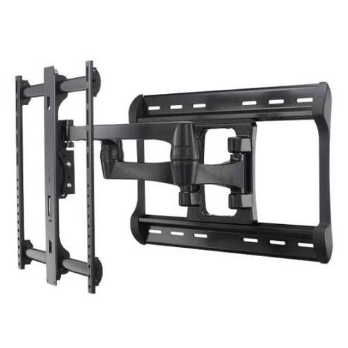 """Product Image - Black Full-Motion Wall Mount Dual extension arms for 42"""" - 90"""" flat-panel TVs - extends 28"""" / 71.12 cm"""