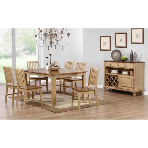 Product Image - Extendable Table Dining Set w/Server (8 piece)