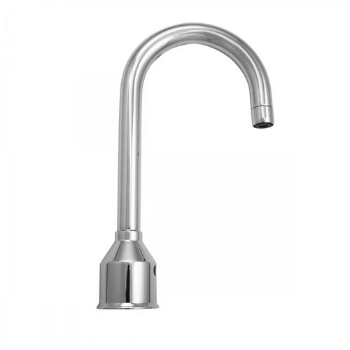 Polished Nickel - Contempo Goose Neck Single Hole Sensor Faucet