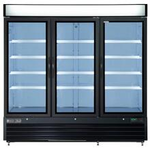Maxx Cold X-Series Merchandiser Refrigerator with Glass Door (72 cu. ft.)