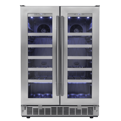 """View Product - Napa 24"""" French Door Wine Cooler"""