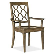Product Image - Montebello Wood Seat Arm Chair