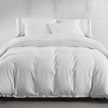 Hera Linen Duvet Cover, 4 Colors - Super Queen / Light Gray