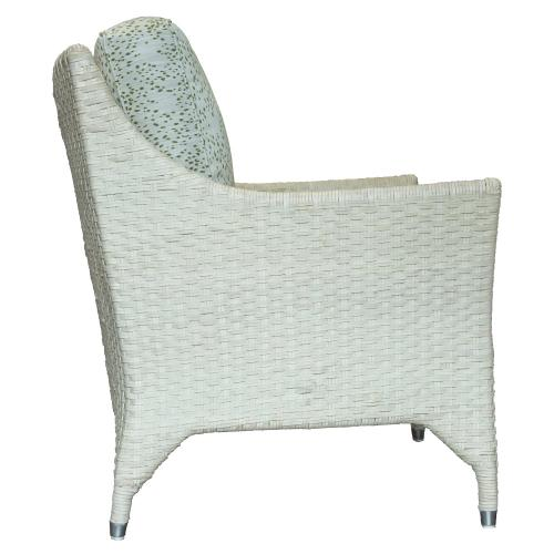 Occassional Chair, Available in Honey and White finish.
